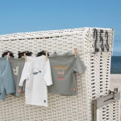 Short Sleeve Rashguard 2020 beach house white 12 mo.(7226.112)