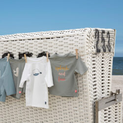 Short Sleeve Rashguard 2020 beach house white 18 mo.(7226.113)