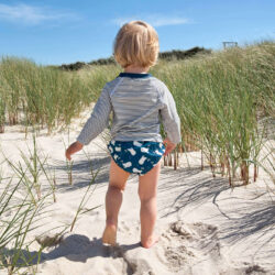Swim Diaper Boys 2020 mr. seagull 12 mo.  (7287B.H2)