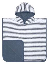 Beach Poncho Boys stripes navy-pončo