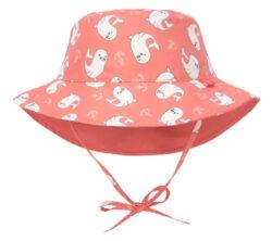 Sun Bucket Hat seal 09-12 mo.-klobouček