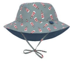 Sun Bucket Hat 2020 lighthouse 09-12 mo. - klobouček