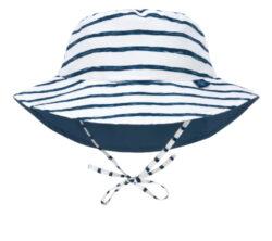 Sun Bucket Hat stripes navy 09-12 mo.-klobouček
