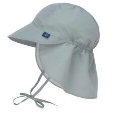 Sun Flap Hat olive 09-12 mo.-klobouček