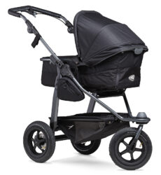 Mono combi pushchair - air wheel black - kombinovaný kočárek