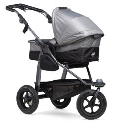 Mono combi pushchair - air wheel grey - kombinovaný kočárek