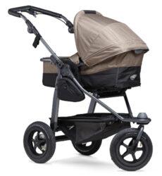Mono combi pushchair - air wheel brown-kombinovaný kočárek