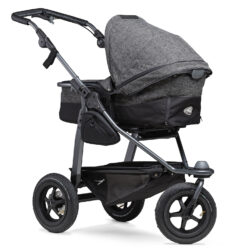 Mono combi pushchair - air wheel prem. anthracite-kombinovaný kočárek