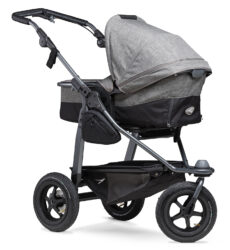 Mono combi pushchair - air wheel prem. grey - kombinovaný kočárek