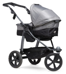 Mono combi pushchair - air chamber wheel grey - kombinovaný kočárek