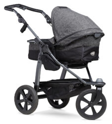 Mono combi pushchair - air chamber wheel prem. anthracite - kombinovaný kočárek