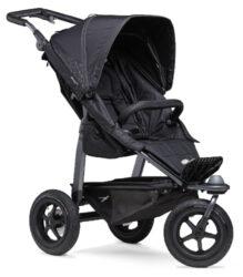 Mono stroller - air wheel black-sportovní kočárek