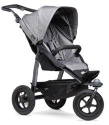 Mono stroller - air wheel grey-sportovní kočárek