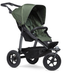 Mono stroller - air wheel oliv-sportovní kočárek