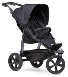 Mono stroller - air chamber wheel black-sportovní kočárek
