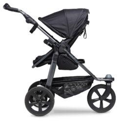 Mono stroller - air chamber wheel black(5393.310)