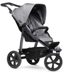 Mono stroller - air chamber wheel grey-sportovní kočárek