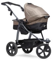 Mono stroller - air chamber wheel brown(5393.327)