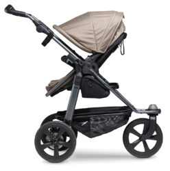 Mono stroller - air chamber wheel brown  (5393.327)