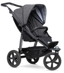 Mono stroller - air chamber wheel prem. anthracite-sportovní kočárek