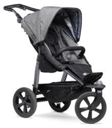Mono stroller - air chamber wheel prem. grey-sportovní kočárek