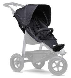 stroller seat unit Mono black-sportovní sedačka pro kočárek Mono