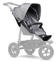 stroller seat unit Mono grey-sportovní sedačka pro kočárek Mono