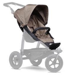 stroller seat unit Mono brown-sportovní sedačka pro kočárek Mono