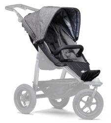 stroller seat unit Mono prem. grey-sportovní sedačka pro kočárek Mono