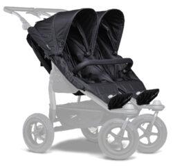 stroller seats Duo black-sportovní sedačky na kočárek Duo