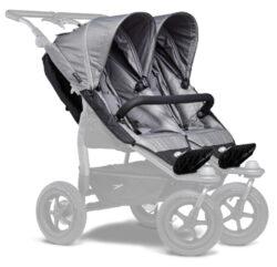 stroller seats Duo grey-sportovní sedačky na kočárek Duo