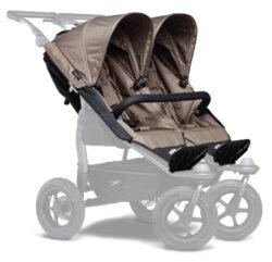 stroller seats Duo brown-sportovní sedačky na kočárek Duo