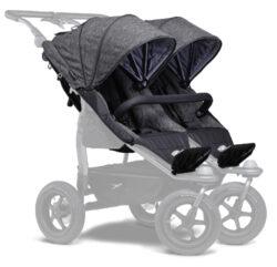 stroller seats Duo prem. anthracite-sportovní sedačky na kočárek Duo