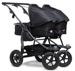 Duo combi pushchair - air wheel black - kombinovaný kočárek