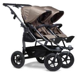 Duo combi pushchair - air wheel brown(5394.327)
