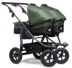 Duo combi pushchair - air wheel oliv-kombinovaný kočárek