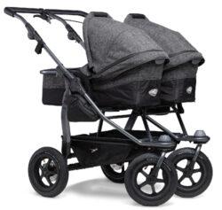 Duo combi pushchair - air wheel prem. anthracite-kombinovaný kočárek