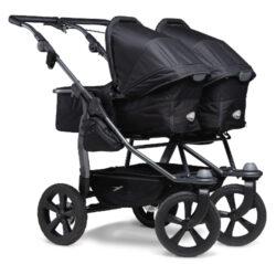 Duo combi pushchair - air chamber wheel black-kombinovaný kočárek