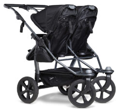 Duo combi pushchair - air chamber wheel black  (5395.310)