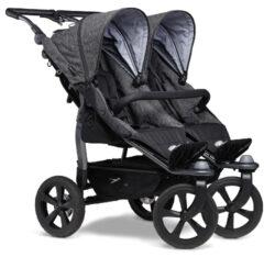 Duo stroller - air chamber wheel prem. anthracite-sportovní kočárek