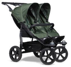 Duo stroller - air chamber wheel oliv-sportovní kočárek