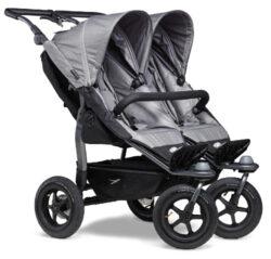 Duo stroller - air wheel grey-sportovní kočárek