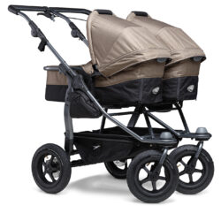 Duo stroller - air wheel brown  (5396.327)
