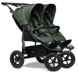 Duo stroller - air wheel oliv-sportovní kočárek