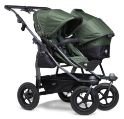 Duo stroller - air wheel oliv  (5396.355)