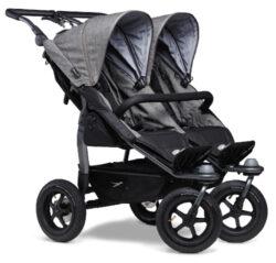 Duo stroller - air wheel prem. grey-sportovní kočárek