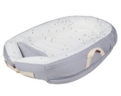 Baby Nest Premium grey flying-hnízdečko