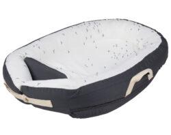 Baby Nest Premium darkgrey flying-hnízdečko