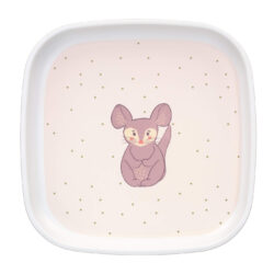 Plate Melamine/Silicone 2020 About Friends chinchilla(7243S.28)