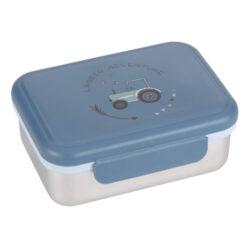 Lunchbox Stainless Steel Adventure tractor-svačinový box